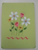 Flower Clipboard
